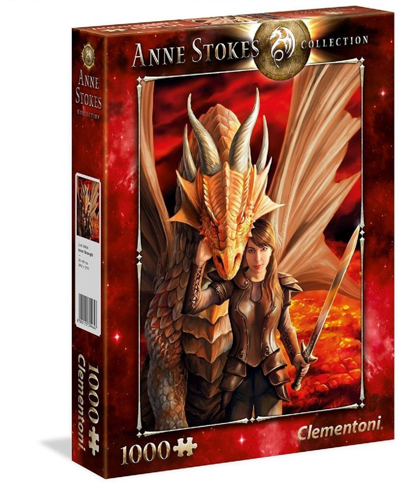 New Teenagers Adults Fantasy Anne Stokes Inner Strength 1000 Pieces Puzzle